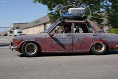 Rusty's smaller, older Japanese sister .. . Datsun 510 content - StanceWorks