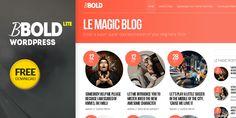 Free Download - Bbold Lite Wordpress Theme