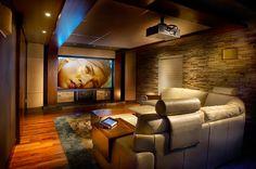 Home Theater – veja 30 salas decoradas, mais dicas e tendências! - Decor Salteado - Blog de Decoração e Arquitetura