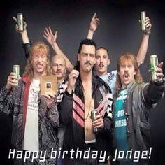 happy birthday jonge!