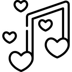 Romantic music free icon - Romantic music free vector icons designed by Freepik Easy Drawings Sketches, Mini Drawings, Cute Easy Drawings, Cute Kawaii Drawings, Art Drawings For Kids, Pencil Art Drawings, Easy Doodle Art, Romantic Music, Music Tattoo Designs