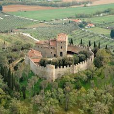 You can buy a 1200yr-old Italian castle with its own private prison