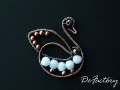 Swan Pendant by SilverDeFactory.deviantart.com on @deviantART