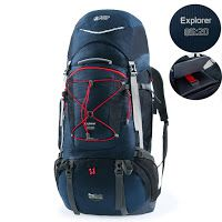 Go Hiking: Hiking Backpack for Men and Women with 10 days Hiking