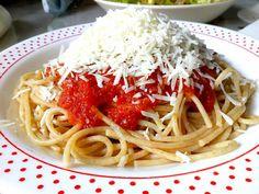 Μακαρονάδα με σάλτσα !!! ~ ΜΑΓΕΙΡΙΚΗ ΚΑΙ ΣΥΝΤΑΓΕΣ 2 Cookbook Recipes, Cooking Recipes, Toddler Rooms, Recipies, Spaghetti, Pasta, Ethnic Recipes, Food, Recipes