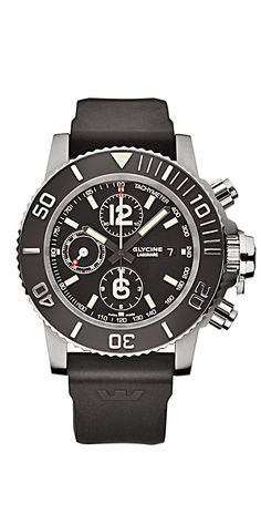 Glycine Lagunare Chrono L1000.  46mm.  Really big.  Really clean.  Would love to see one in person.  $2,500.