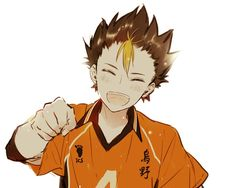 Mmmhmm~ *fist bump* --Can you tell I really like Yuu Nishinoya? Well, I really like Yuu Nishinoya~ He's super adorable…