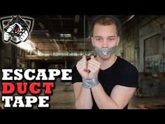 How to Escape Duct Tape Handcuffs: Abduction Survival Tactics