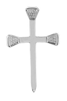 Kelly Herd Horseshoe Nail Cross Pendant