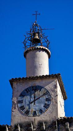 Clock Tower, Castellane, via Flickr.