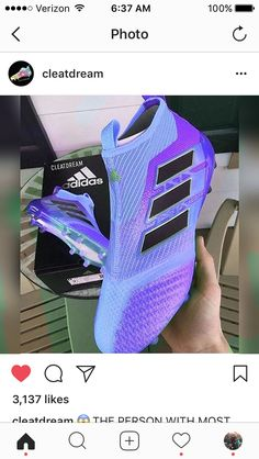 What You Need To Know About The Great Sport Of Football. There is no game that compares with football. Best Soccer Shoes, Best Soccer Cleats, Girls Soccer Cleats, Soccer Gear, Solo Soccer, Soccer Stuff, Soccer Tips, Adidas Soccer Boots, Adidas Cleats