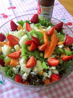 Kääpiölinnan köökissä: My heads in Mississippi Kinds Of Salad, Fruit Salad, Mississippi, Salads, Green, Food, Fruit Salads, Essen, Meals