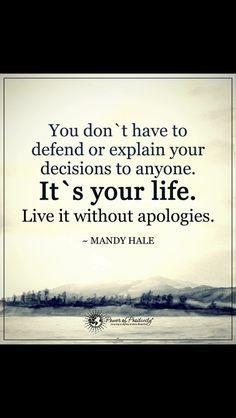i'm through apologizing.