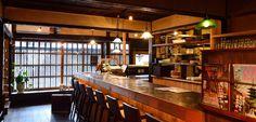 「京町家→カフェ / Kyo-machiya → Cafe 」 (京都)http://ikigoto.com/living/tabi/