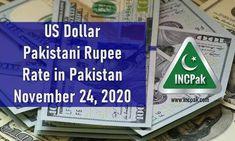 USD to PKR: Dollar rate in Pakistan – 24 November 2020