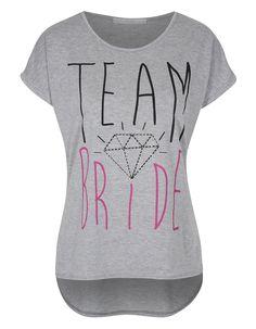 Team Bride Hen Party T-shirt | Women | George at ASDA