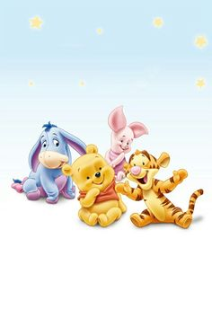 Unique Baby Pooh and friends