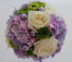 Bukiet ślubny - róże #ślub #florystyka #bukiet #fiolet #róże #wedding #flowers