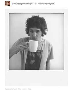 Luke Pritchard of the Kooks The Kooks, Fit Men, Mens Fitness, Tea Cups, Bands, Polaroid Film, Fitness For Men, Male Fitness, Band