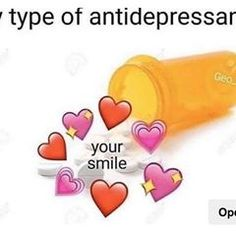 your smile cures my depression :) Crush Memes, Stupid Memes, Funny Memes, Sapo Meme, Heart Meme, Current Mood Meme, Snapchat Stickers, Cute Love Memes, Mood Pics
