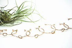 Featured: The Painted Press; Beautiful knotted gold bracelets bridesmaid gift idea;