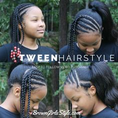 Remarkable Natural Black Hair Natural Hair Tutorials And Tween On Pinterest Hairstyle Inspiration Daily Dogsangcom