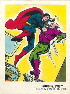 It's time to fight back against evil. (Superman vs. Lex Luthor)