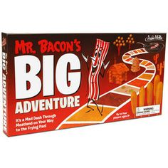 Mr. Bacon's Big Adventure Board Game for the children