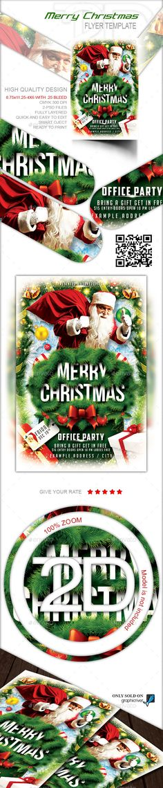Club Flyer Christmas Flyer template, Christmas flyer and Font logo - movie night flyer template