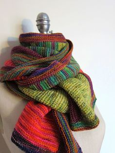 Koigu Carlisle scarf - delish!