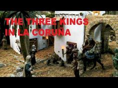 The Three Kings Are Coming to La Coruña (Spain)