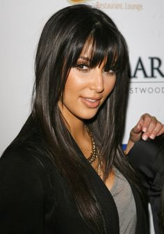 Her bangs were always perfect! SOOO jealous