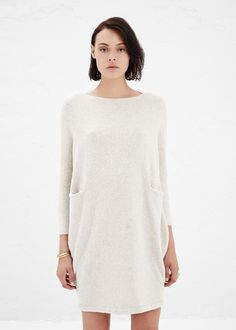 lauren manoogian chalk trapezoid dress.