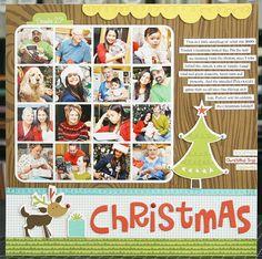 Laura Vegas--great christmas summary page.