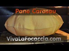 ▶ Ricetta Pane Carasau (Carta da Musica) Fatto in Casa - YouTube