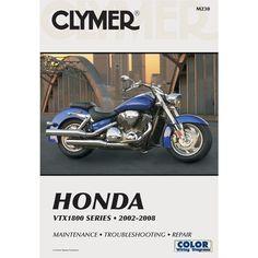42 best motorcycle repair manuals images on pinterest repair clymer honda vtx1800 series 2002 2008 fandeluxe Image collections