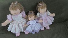 boneca para nicho, em trio  g, m, p, R$ 190,00