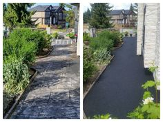 This path had almost returned to the earth!  There is always hope! www.greentechresurfacing.com