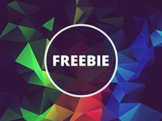 Free Polygonal / Low Poly Background Texture #24