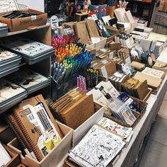 Stationery fanatic's heaven