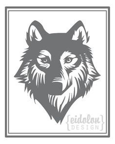 8x10 Grey Wolf Print by eidolondesign on Etsy, $10.00 Yeah, my sister-in-law is pretty talented. Check her stuff out!