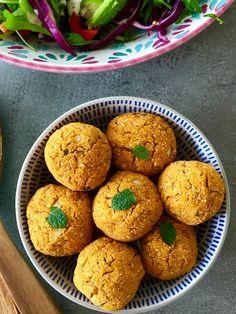 Gebackene Süßkartoffel-Falaffel
