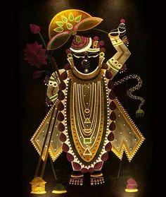Tanjore Painting, Krishna Painting, Indian Gods, Indian Art, Señor Krishna, Pichwai Paintings, Lord Krishna Wallpapers, Lord Krishna Images, Hindu Deities