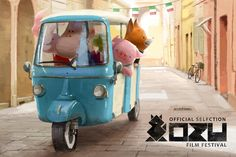 The Dam Keeper characters are set to visit Northern Italy for the Ozu Film Festival! The Dam Keeper will be in competition at the festival from November 17th to the 23rd! The festival has been running since 1992 and exhibits shorts from around the world!  Festival site: http://www.ozufilmfestival.com/en/2014-edition/ozu-22/  This beautiful announcement by Jeanie Chang! http://jeaniechang.blogspot.com/