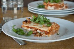 Warm, savory, cheesy, comforting, deliciousness. Nothing says home-cooked meal like a pan of grain free lasagna roasting in the oven.