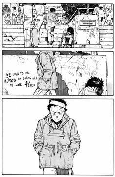 Akira by Katsuhiro Otomo Sci Fi Comics, Manga Comics, Manga Artist, Comic Artist, Tetsuo Shima, Akira Anime, Katsuhiro Otomo, Comic Layout, Adventure Aesthetic