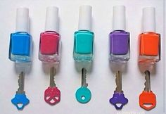 Great way to organize keys and keep from mixing them up