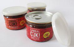Image result for packaging sambal cuki