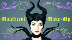 Maleficent Make-Up Tutorial  I really like her. :)