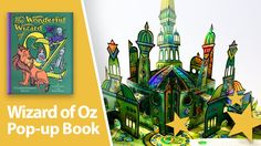 The Wonderful Wizard of Oz Pop-up book by Robert Sabuda
